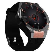 Купить с кэшбэком Waterproof Smartwatch 2018 Bluetooth GPS Smart Watch Phone 3G Clear Camera Watch Wifi 4G ROM Heart Rate Monitor