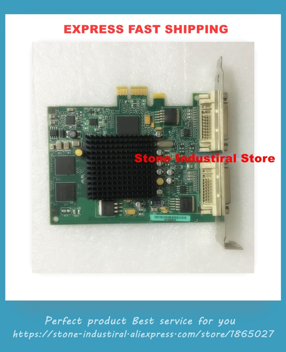 Graphics Card POWER6 POWER7 5748 GXT145 PCI-E 10N7756Graphics Card POWER6 POWER7 5748 GXT145 PCI-E 10N7756