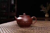 Yixing authentic Purple Tea pot origin pure sands Zisha tea sets 260cc
