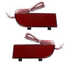 2pcs LED Shocks Rear Bumper Reflector Spotlight Fog Tail Brake Lights For Mercedes Benz Vito Viano W639 2003-2014 цены онлайн