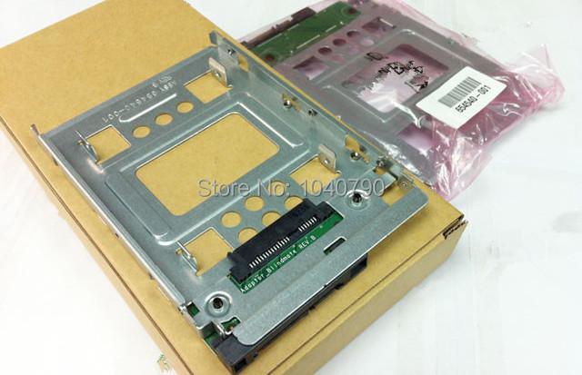 Envío Gratis 654540-001 2.5 a 3.5 soporte de Intercambio En Caliente de transferencia de Disco Duro soporte de Disco Duro para HP GEN8/N54L