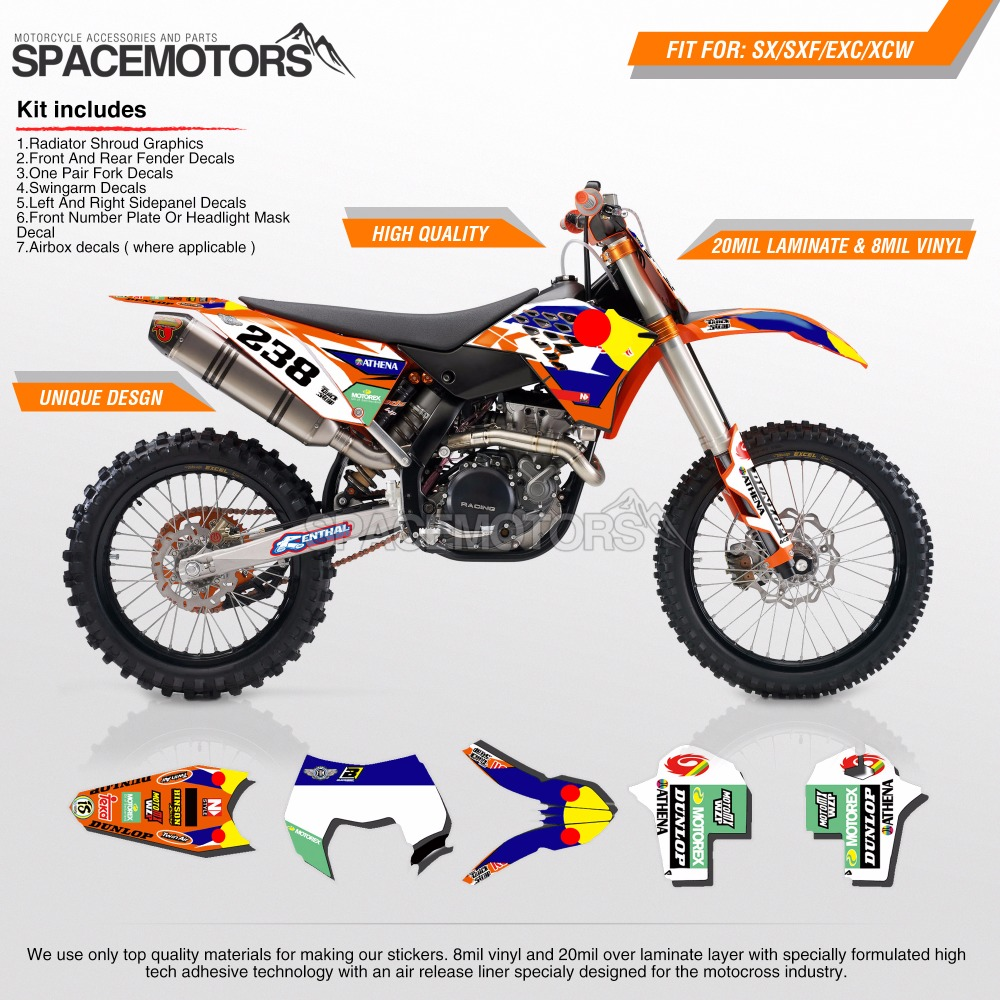 MX M Wrap Skin Stickers Decals Graphics Kit For Motorcycle - Decal graphics for dirt bikes