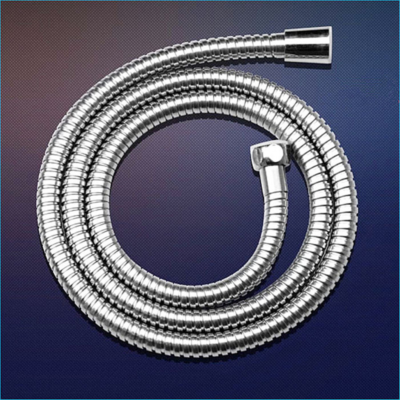 Beautiful 1.5 Meters High Elasticity High Temperature Stainless Steel Shower Pipe,plumbing Hose Explosion-proof,j14283 Plumbing