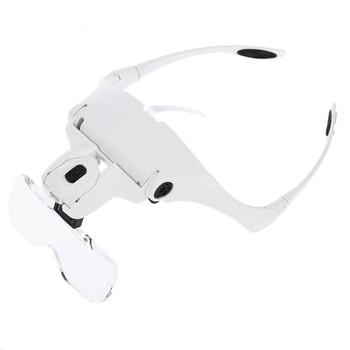 3,5 x gafas de lupa, lupa de aumento, lupa de vidrio, lente,...