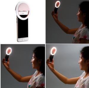 Image 5 - 36 LED Portable Selfie Lgiht Led Camera Clip on Mobile phone Selfie ring light video light Night Enhancing Fill Light