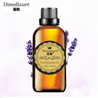 Dimollaure Lavender Essential Oil Help Sleep Fragrance Lamp Humidifier Aromatherapy Oil Acne Treament Spa Massage Oil