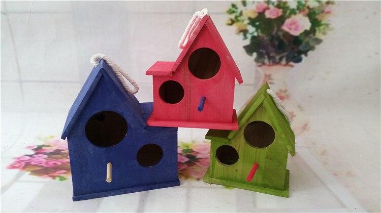 Vogelkooi In Huis : Dubbeldeks xl houten vogelkooi met trappen vogel huis met grote