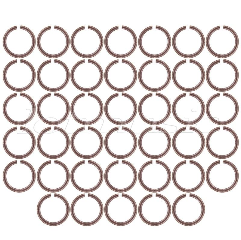 40pcs Ukulele Sound Hole Rosette Inlay Decal Basswood Diameter 73mm Guitar Parts цена и фото