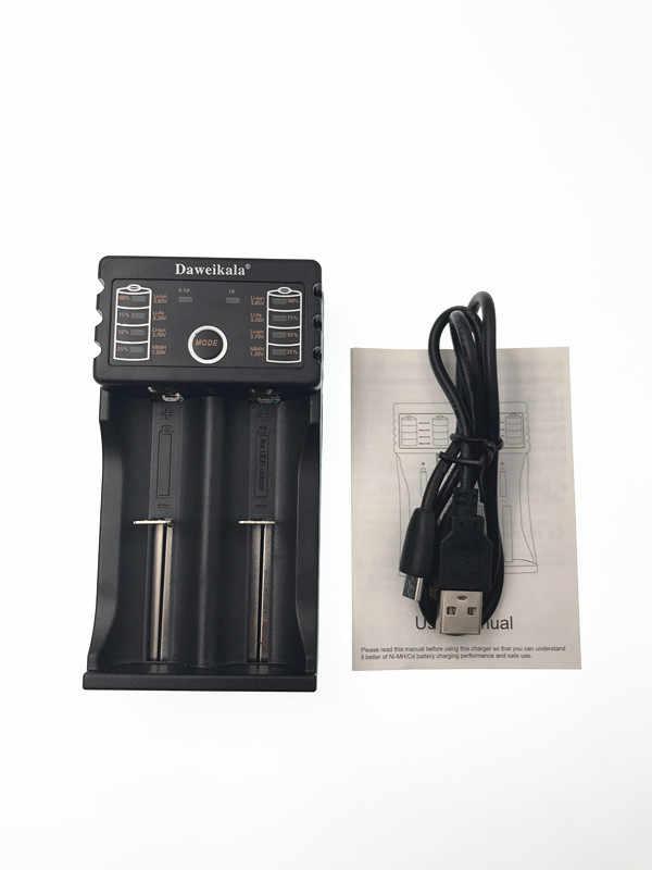 4ピース100%オリジナル18650バッテリー3400 mah 3.7ボルトリチウムバッテリーパナソニックncr18650b 3400 mahバッテリ+ 1ピースバッテリー充電器