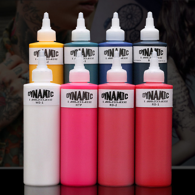 Microblading 8oz 250ml Dynamic Tattoo Ink For Tattoo Kit 9 Color Tattoo Pigment 1 Bottle For Body Art Tattoo Painting Cosmetics