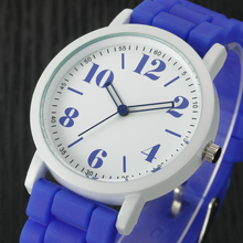 Ladies Watch Relojes Mujer 2016 Famous brand Clock Women Analog Silica Jelly Gel Quartz Sports Wrist Watches Women Gift Saat