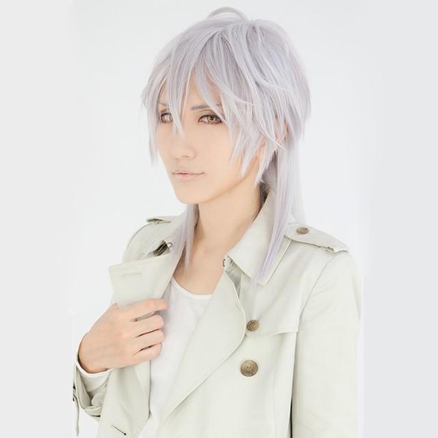 Japanese Anime Touken Ranbu Tsurumaru Kuninaga Cosplay Wig Psycho
