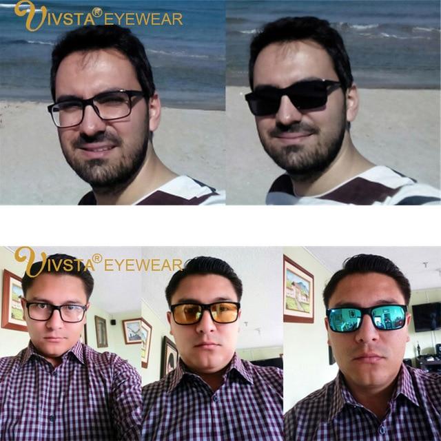 570ce6020e5 2018 Include Frame Polarized Clip On Sunglasses Men TR90 Custom  prescription lenses Magnetic clips night glasses drive Magnet