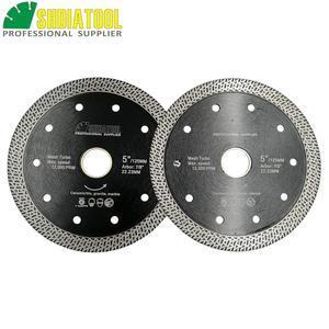 Image 3 - SHDIATOOL 2 piezas diamante prensado en caliente sinterizado disco de corte de malla de baldosa Turbo hoja de mármol Rueda de corte Sierra de múltiples materiales hoja