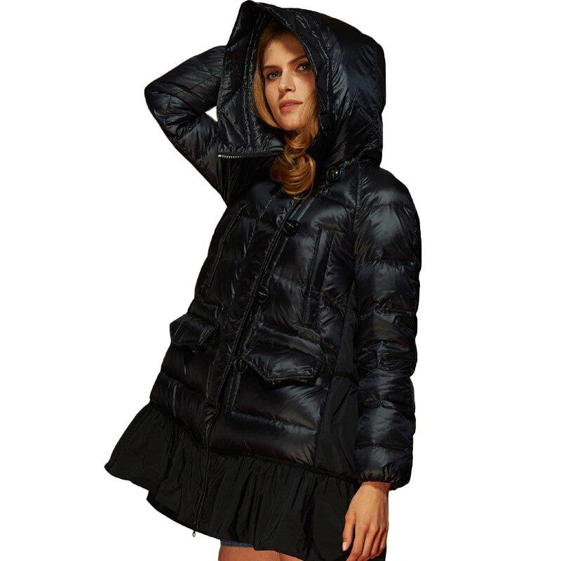 Manteau hiver femme a capuche