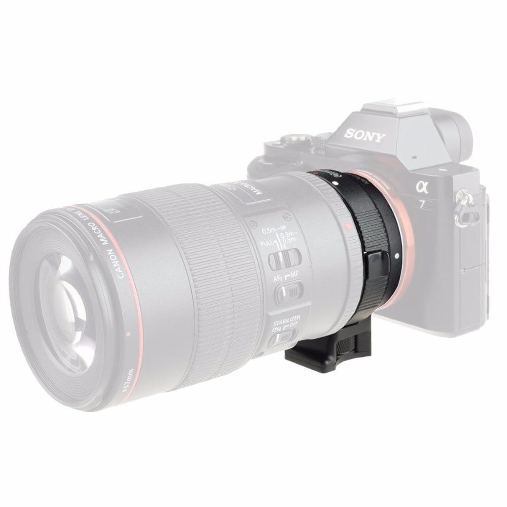 Canon EF EF-S obyektiv üçün EF-NEX Lens üçün Adapteri Sony - Kamera və foto - Fotoqrafiya 6