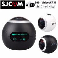 Оригинальная SJCAM SJ360 панорамная WiFi 2 K 30fps Спортивная Экшн камера 12MP Рыбий глаз объектив 220 градусов FOV VR видео запись