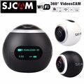 Original SJCAM SJ360 Panorama WiFi 2 K 30fps deportes Cámara de Acción 12MP lente de ojo de pez de 220 grados de visión VR de grabación de vídeo
