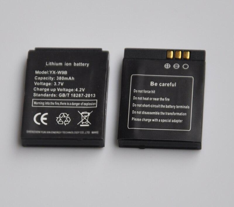 1-5 STÜCKE 380 mAh Wiederaufladbare Li-Ion Lithium-Polymer-Batterie-Backup Ersatz Für gt08 DZ09 A1 W8 V8 X6 smart uhr