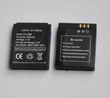 1-5 шт. 380 мАч Перезаряжаемые литий-ионный Литий-полимерный Батарея Резервное копирование Замена для gt08 DZ09 A1 W8 V8 X6 smart watch