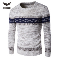 Pull Homme 2016 O Neck Sweaters Knitted Long Sleeve Men Sweater Mens Thickening Keep Warm Bottoming