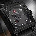 NAVIFORCE Homens Relógio de luxo Da Marca Homens de Negócios Relógio de Quartzo Rodada Relógios 2016 Moda relógio de Pulso Analógico de Couro À Prova D' Água LX37