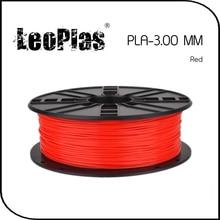 Worldwide Fast Delivery Direct Manufacturer 3D Printer Material 1 kg 2.2 lb 3mm Red PLA Filament