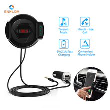 ENKLOV Car Bluetooth Handsfree Kit Car Charger