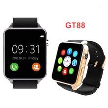 GT88 Smart Watch Inteligente Relogios Pedometer Heart Rate SIM TF Card Bluetooth SmartWatch For Apple IOS