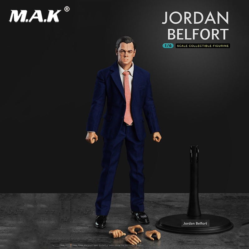 Full set action figure for collection 1/6 scale Movie Series Male Figure Jordan Belfort Leonardo Doll Toys Box Set 1 6 scale full set male action figure kmf037 john wick retired killer keanu reeves figure model toys for gift collections