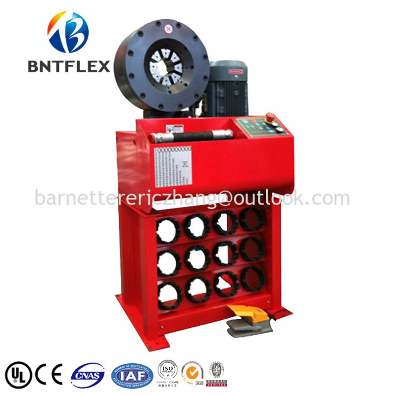 4 steel pipe pressing machine manufacturer with quick change tool