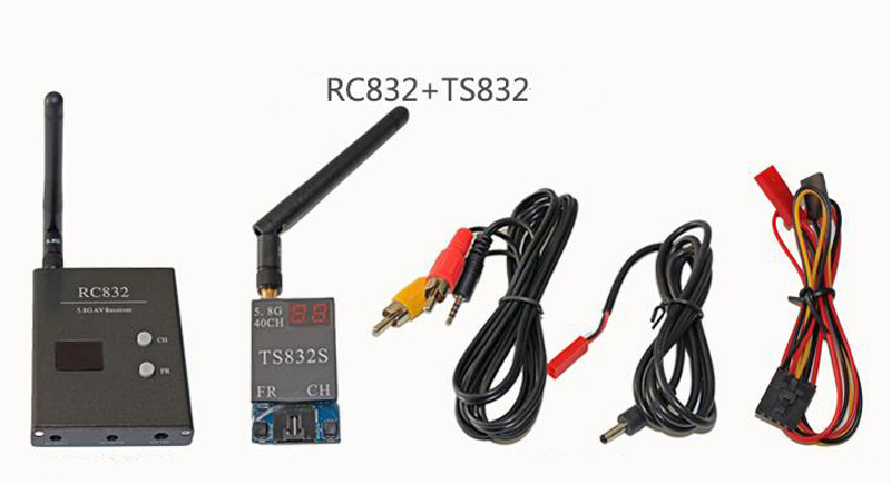 5.8G 32CH 200mW 600mW Transceiver Set Transmitter Launcher Receiver Long Range For FPV RC Drone Photography TX AV Transmission ts5823 5 8g 200mw 32ch mini wireless transmitter for fpv black page 9