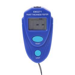 Nowy EM2271 cyfrowy miernik grubości lakieru samochodowego miernik grubości powłoki qiang