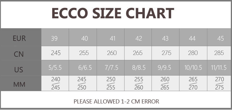 ECCO Brand New Arrival Fashion Men Shoes Party and Wedding Men Dress Shoes Black Formal Male Oxford Shoes 623535 1