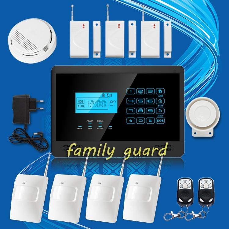 DHL Free Shipping!NEW APP Autodial Wireless Smoke Sensor GSM SMS Home Security Burglar alarm system Touch Keypad Hot Sale mundorf mkp mcap supreme silver gold oil 1000 vdc 2 7 uf