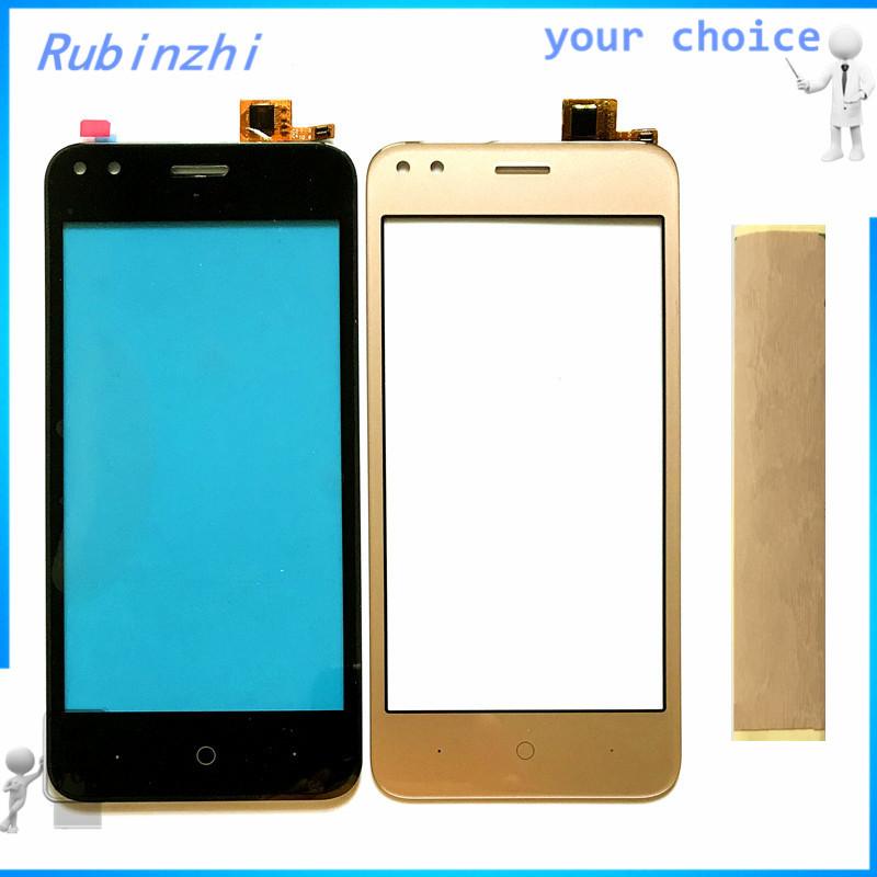 RUBINZHI With Tape Mobile phone Touch sensor For Micromax Bharat 3 Q437 touch screen digitizer front glass touchscreen panel