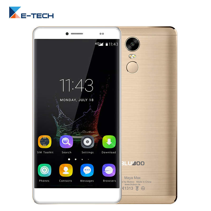 bilder für BLUBOO Maya Max MTK6750 Octa-core-handy Android 6.0 HD 6,0 Zoll Handy 3G RAM 32G ROM 13.0MP Entsperrt 4G Smartphone