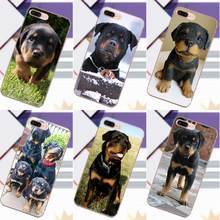 Vvcqod Rottweiler Dog Puppy For Galaxy Alpha Core Prime Note 4 5 8 S3 S4 S5 S6 S7 S8 S9 mini edge Plus TPU Fashion Case Cover(China)