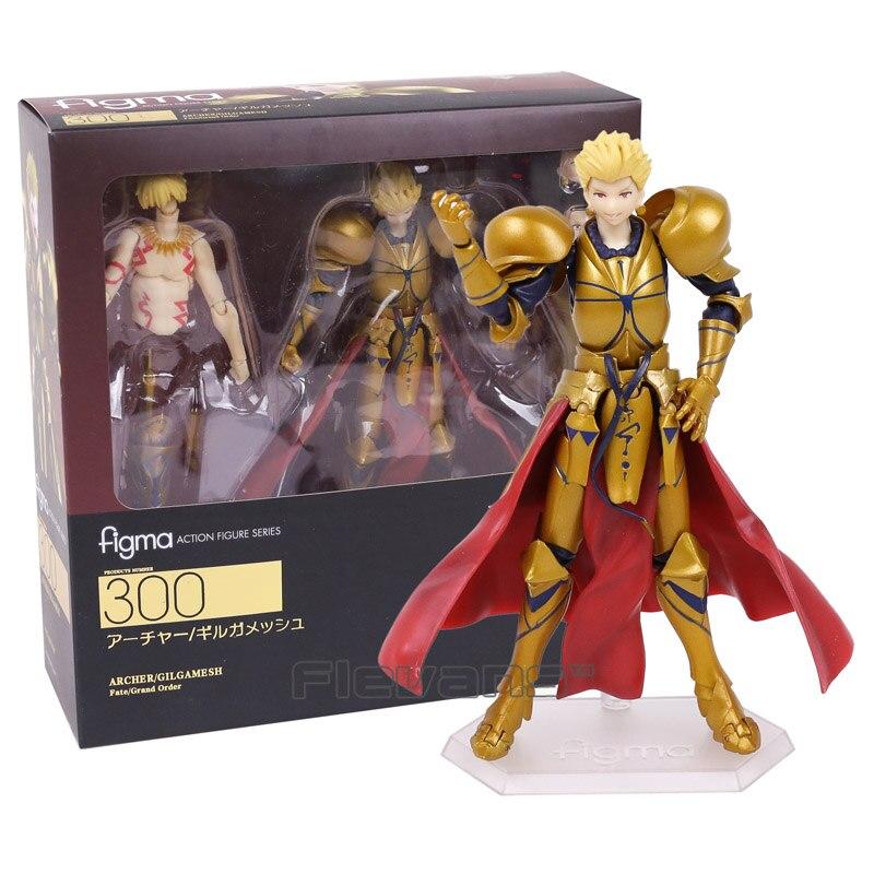 Destino grande pedido figma 300 archer gilgamesh pvc figura de ação collectible modelo brinquedo brinquedos 15cm