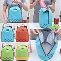 Hot New Insulated Tote Lunch Bag Picnic Box Waterproof Canvas Cooler Thermal Food Drinks Hand bag lunchbox For Adults Kids Z1