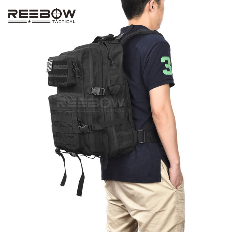 Reebow Tactical Military Backpack Army 3 Day Assault Pack Waterproof Molle Bug Out Rucksacks Outdoor Hiking Camping Hunting In Climbing Bags From Sports