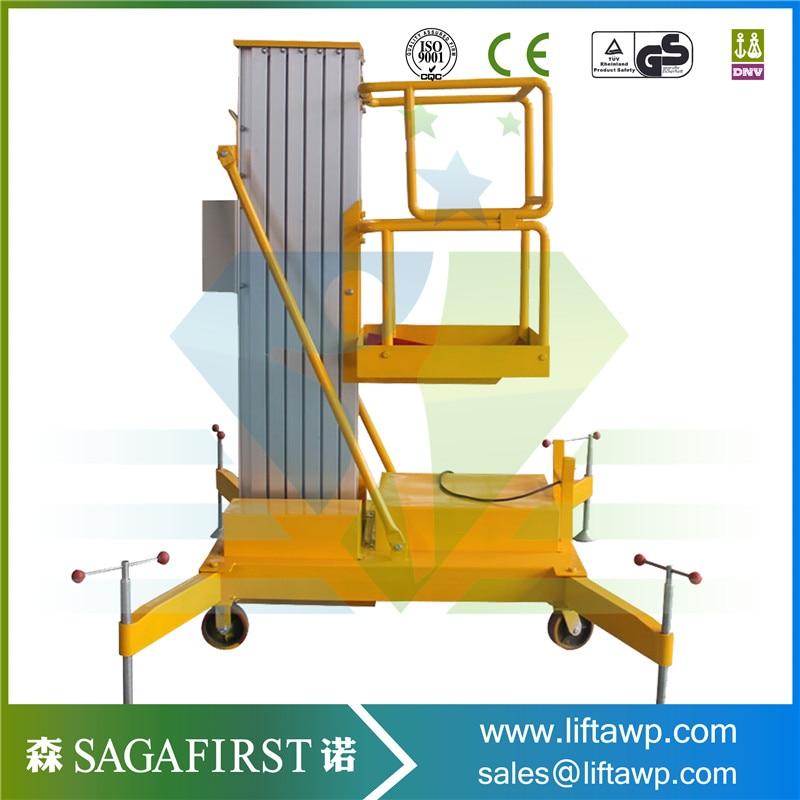 9m Hydraulic Electric Light Aloft Work Platform Lift