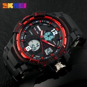 Image 3 - 2019 SKMEI G Style Fashion Digital Watch Mens Sports Watches Army Military Wristwatch Erkek Saat Shock Resist Clock Quartz Watch