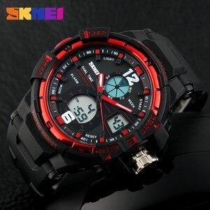 Image 3 - 2019 SKMEI G Style Fashion zegarek cyfrowy męskie zegarki sportowe zegarek wojskowy armii Erkek Saat odporny na wstrząsy zegar kwarcowy zegarek