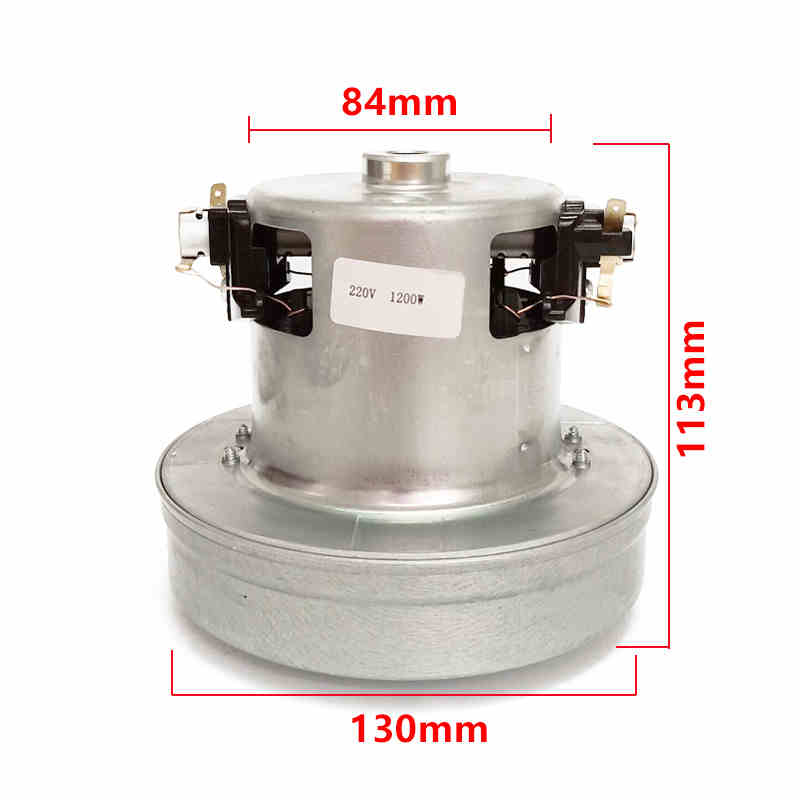 220V 1200W universal Vacuum Cleaner Motor Part for Whirlpool WVC-HT1401K WVC-HT1402K WVC-HT1603K vacuum cleaner accessories