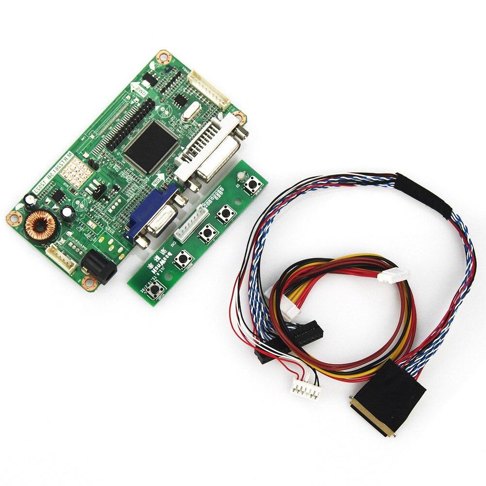 WunderschöNen Für Lp156wh2 N156bge-lb1 tl Rt2281 Lcd/led Controller Driver Board Lvds Monitor Wiederverwendung Laptop 1366x768 Rt2261 M vga + Dvi M q1