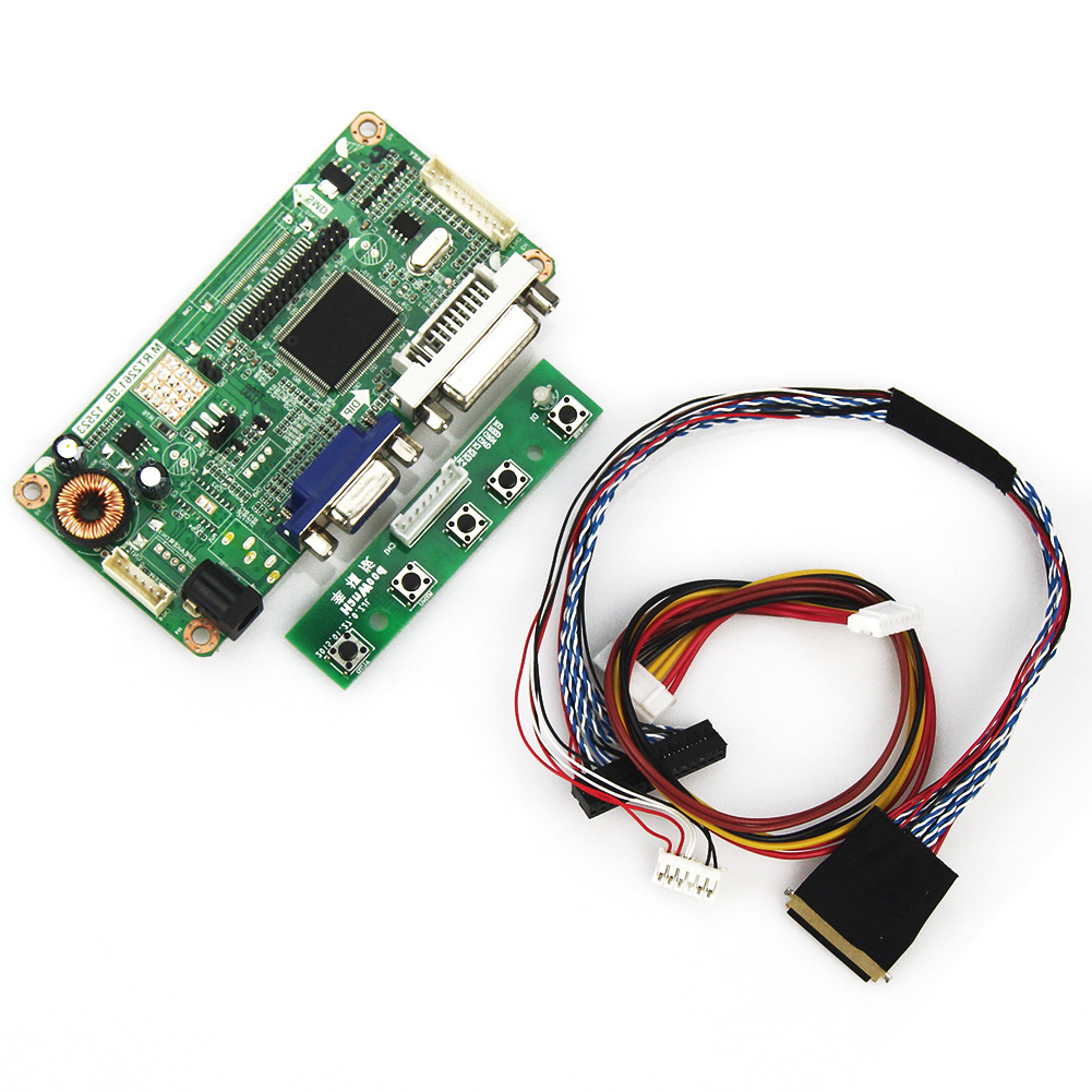 For LP156WH2(TL)(Q1) N156BGE-LB1 (VGA+DVI) M.RT2261 M.RT2281 LCD/LED Controller Driver Board LVDS Monitor Reuse Laptop 1366x768