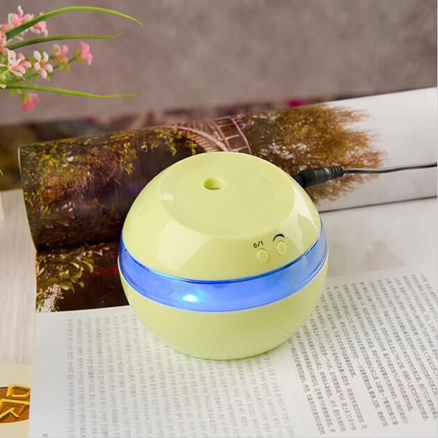 DC 5V Ultrasonic Air Aroma Car Humidifier Color LED Lights Electric Aromatherapy Essential Oil Aroma Diffuser Car Humidifier (3)