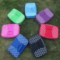 "Wholesale Blanks  10""*15.5""*3""  quatrefoil rectangle food carrier Casserole Carriers Containers Lunch Bag DOM103075"