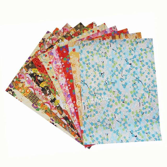 buy 19x27cm japanese origami paper washi. Black Bedroom Furniture Sets. Home Design Ideas